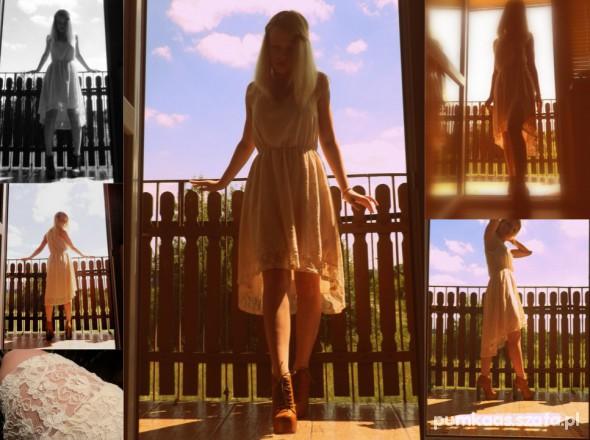 Romantyczne Koronkowa H&M i Lity Deezee