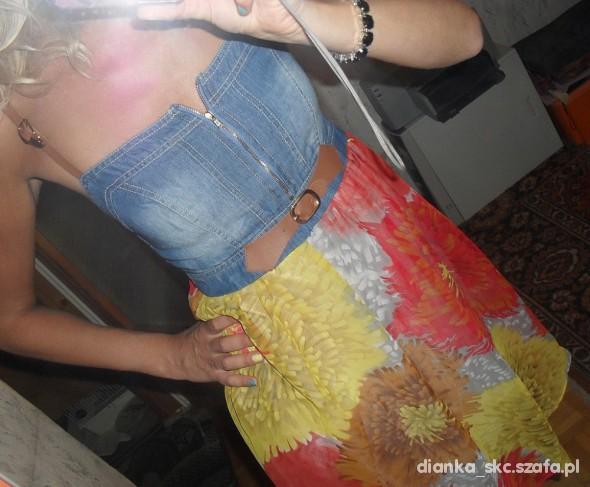 Suknie i sukienki Śliczna letnia sukienka