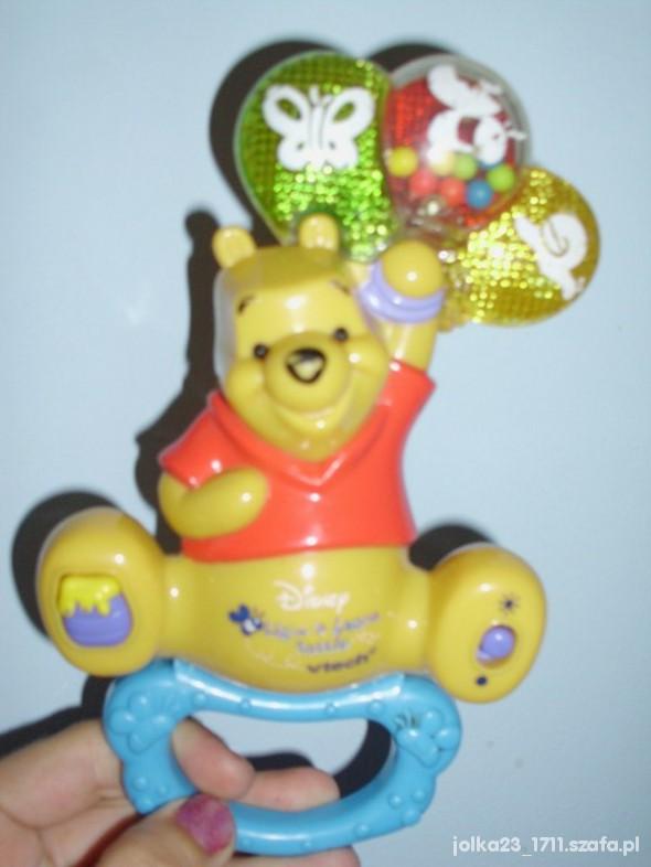 Zabawki grająca grzechotka Kubus Puchatek Disneya