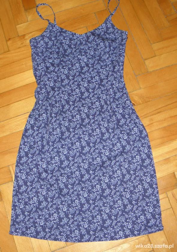 Suknie i sukienki sukienka letnia floral old navy 34