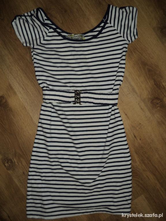 Suknie i sukienki Sukienka Marynarska jak H&M