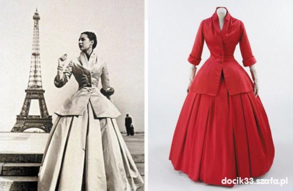 Dior i jego suknia...