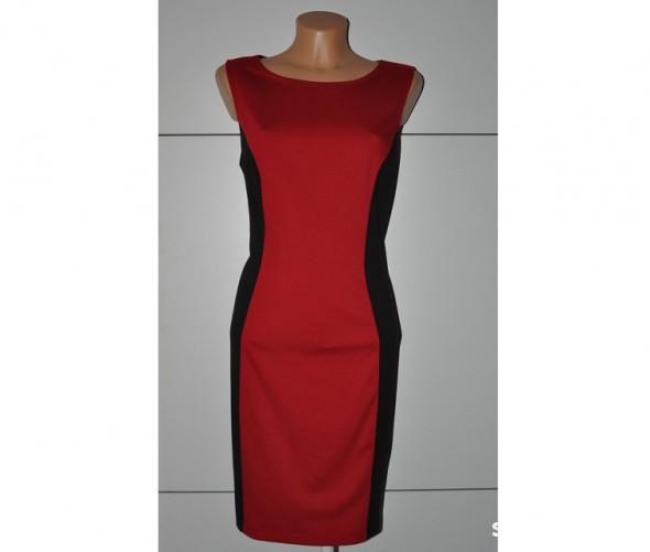 Suknie i sukienki NOWA SUPER WYSZCZUPLAJĄCA SUKIENKA 38 OKAZJA
