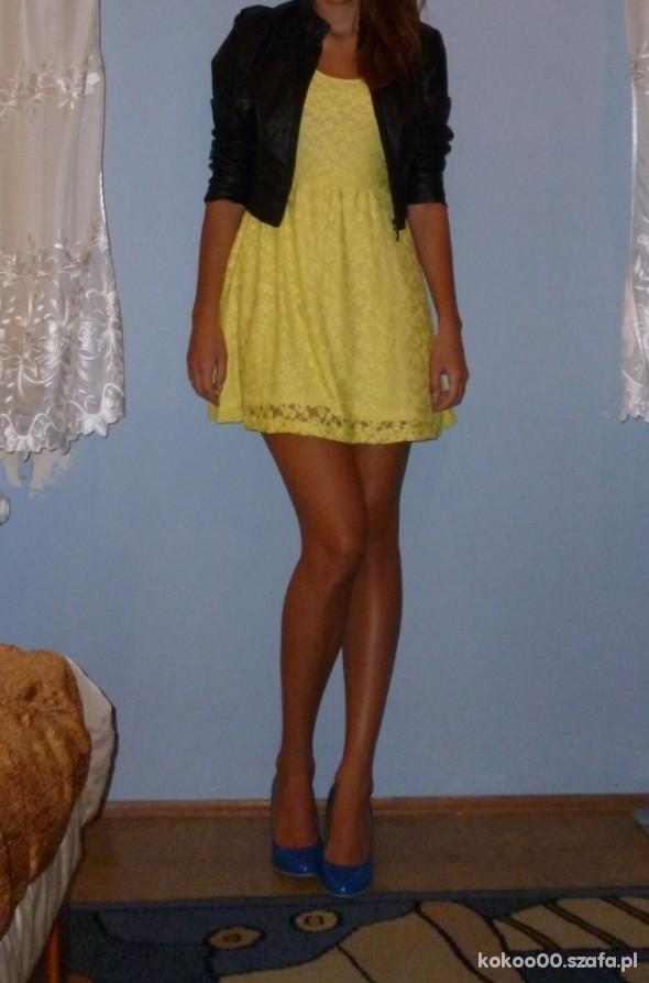 a7f6d82c7c05c żółta neonowa sukienka na wiele sposobów w Mój styl - Szafa.pl