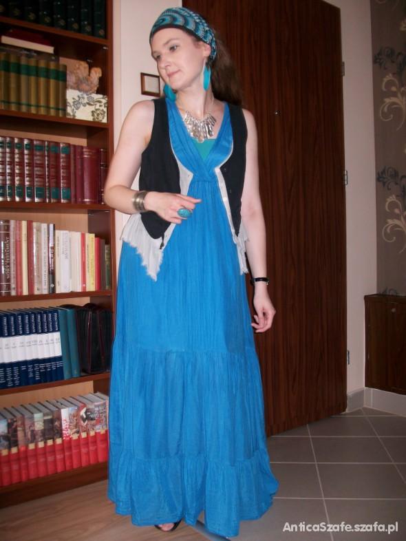 Mój styl Na niebiesko