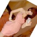 Urocza Imprezowa Sukienka Japan Style S M L