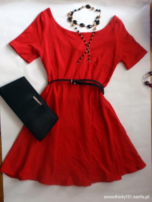 Suknie i sukienki czerwona sexy lady 36