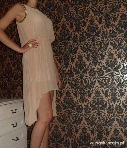 Wieczorowe Asymetryczna sukienka