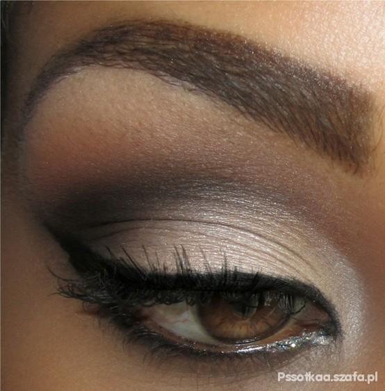 make up piwne oczy