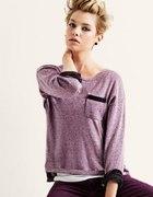 oversize sweter fiolet h&m...