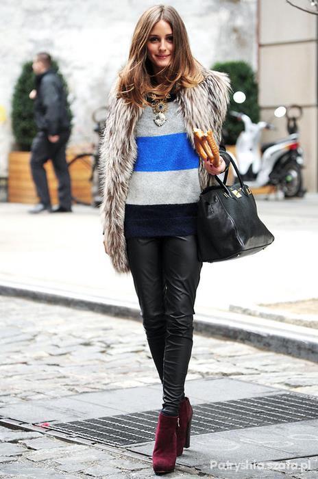Eleganckie Olivia Palermo