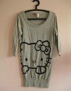 Śliczny sweterek HELLO KITTY HM roz 36
