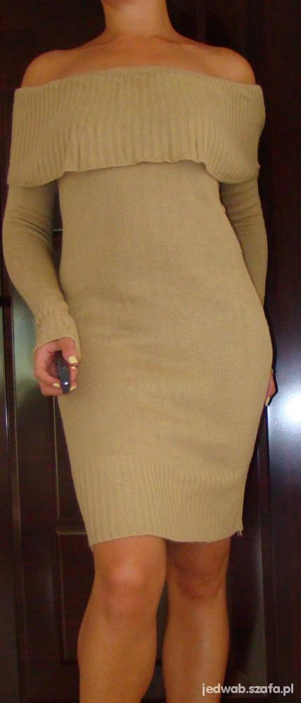 Suknie i sukienki Dzianinowa sukienka