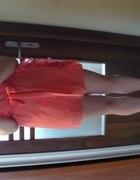 koralowa sukieneczka hit sexy