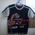 Extra tshirt 128 z Dinozaurem na 7 8 lat