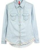 Jasna jeansowa koszula XS 34