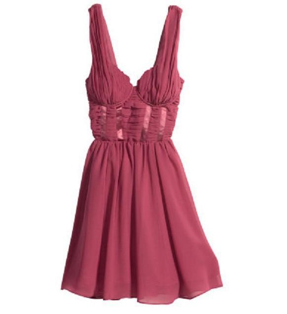 Piękna sukienka ceglasta H&M