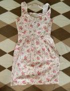 Sukiena z House z kokardkami w kawiatki rozmiar XS