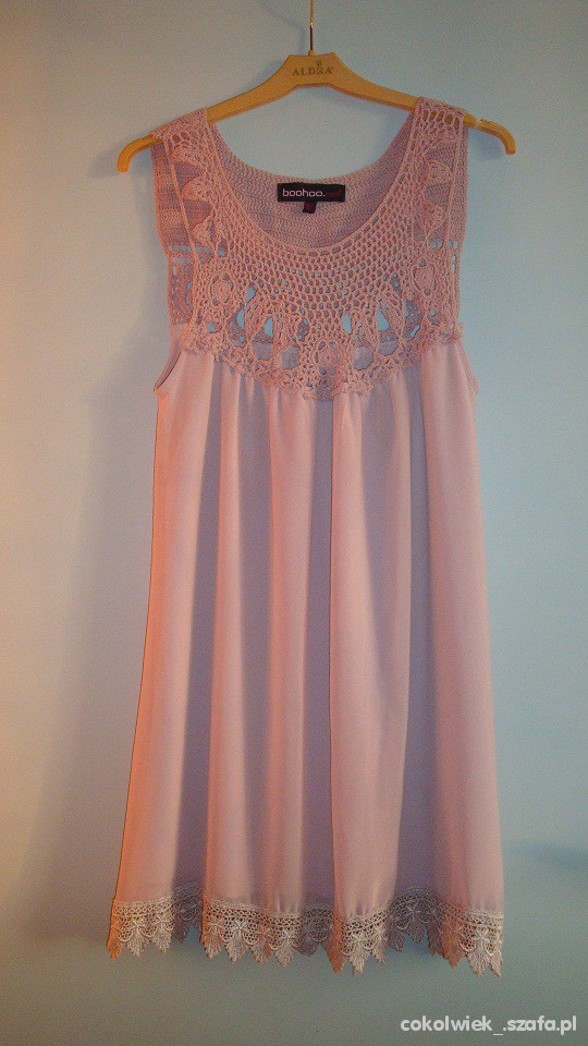 Suknie i sukienki Romantyczna boohoo com