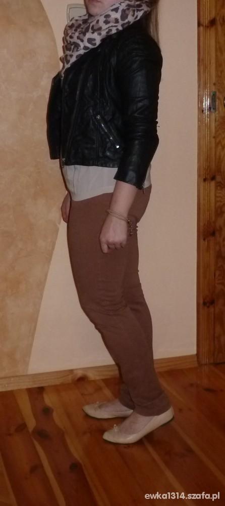 Mój styl ramoneska h&m i komin
