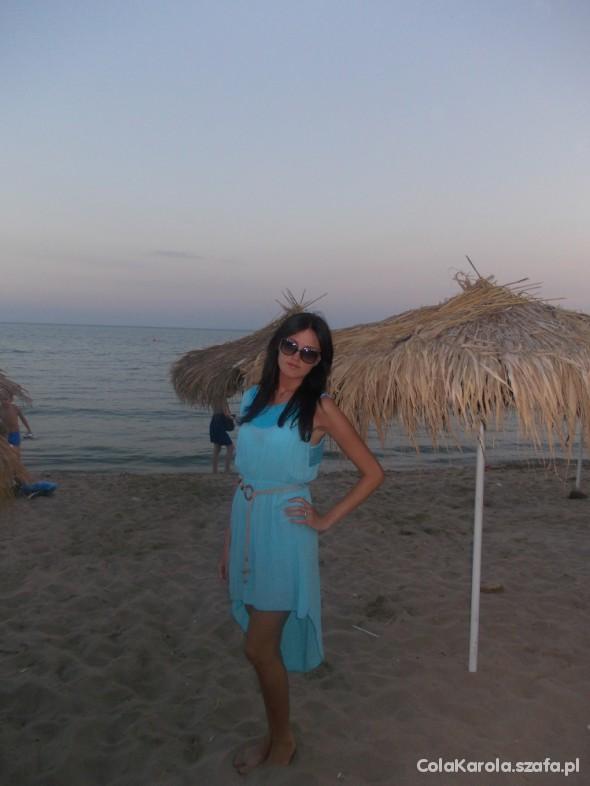 Romantyczne sunny beach