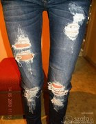 Jeans dziury