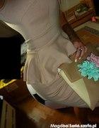 Sukienka Nudle z baskinką