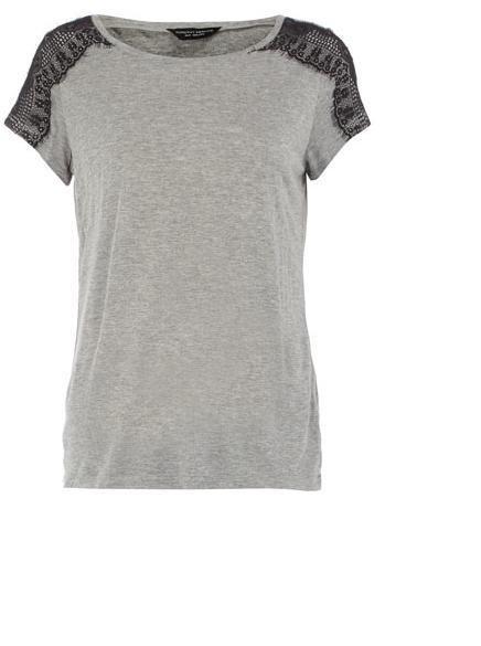 Ubrania Szara bluzka od Dorothy Perkins