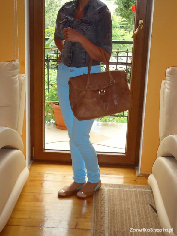 Mój styl Jeansowa koszula