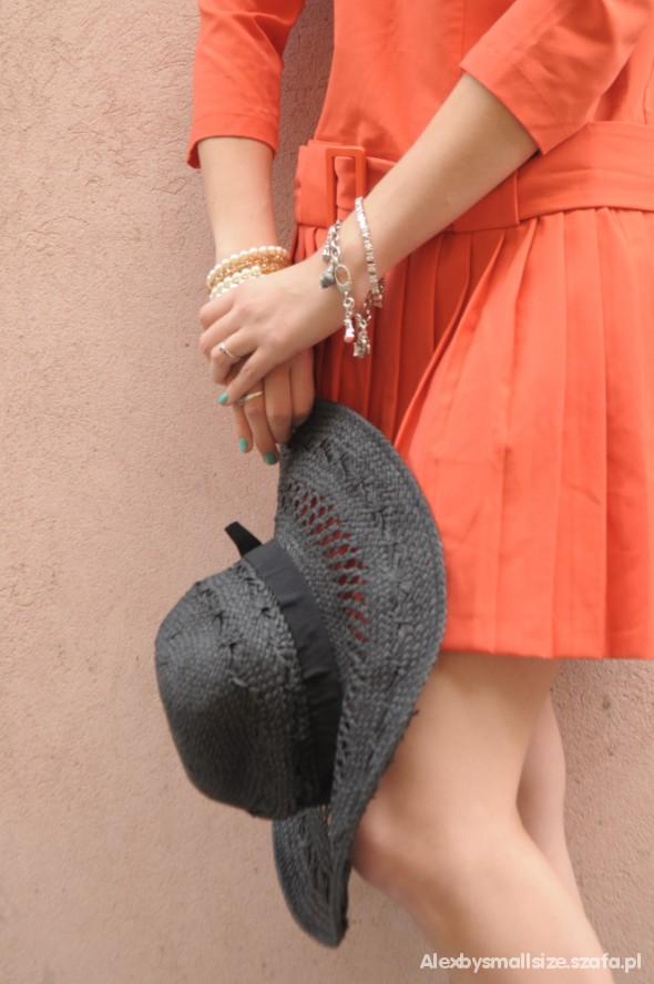 Mój styl Sukienka asos z dodatkami