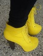 lity żółte