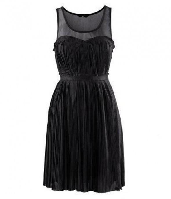 Sukienka plisowana hm serduszko