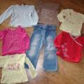 Bluzeczki i spodnie 92