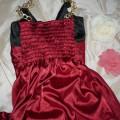 Fajna sukienka satyna