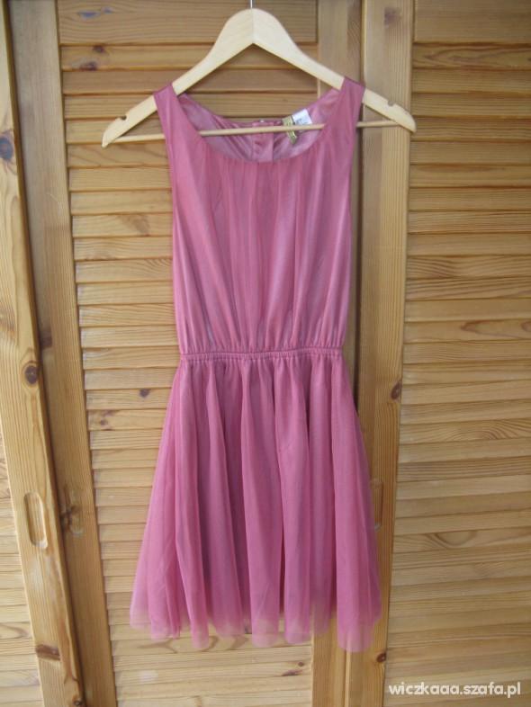 6e6831c05b Sukienka HM tiulowa tiul różowa zip w Suknie i sukienki - Szafa.pl