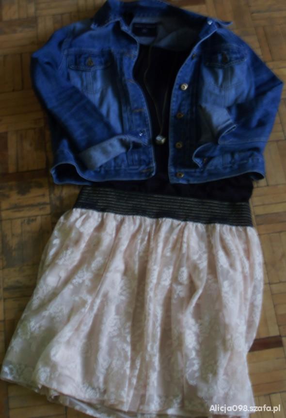 Mój styl Koronkowo i jeansowo second handowo