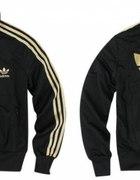 bluza czarno złota adidas