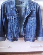 Kurtkaa jeansowa dżinsowa S M mankiety