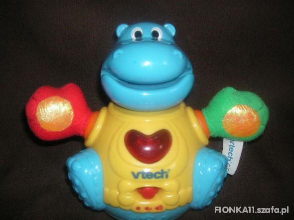 Zabawki grająca wańka wstańka hipopotam v tech