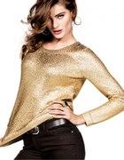 H&M złoty sweterek