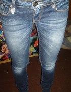 Jeansowe spodnie POLECAM TANIO OMBRE