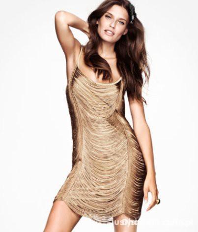 Suknie i sukienki Sukienka frędzle h&m