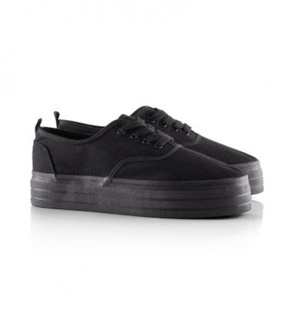 Obuwie Trampki creepers creepersy h&m