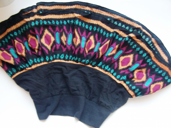 Spódnice kolorowa mini 36