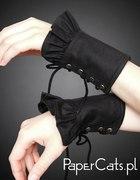 rękawki czarne papercats...