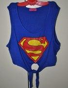 Superman top wiązany