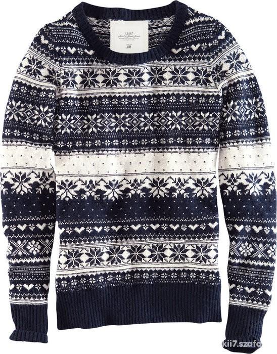 bfbc9614caf008 Norweski sweter skandynawskie wzory lub podobne w Męskie - Szafa.pl