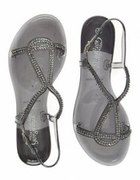 Glitter Jelly Sandals New Look...