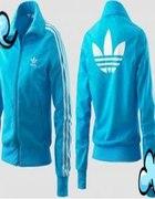 bluza niebieska adidas