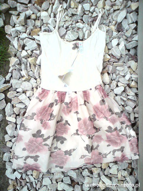 Suknie i sukienki SUKIENKA ATMOSPHERE ROZE XS cena z wysylka
